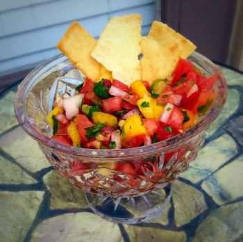 SIMPLE HOMEMADE SALSA