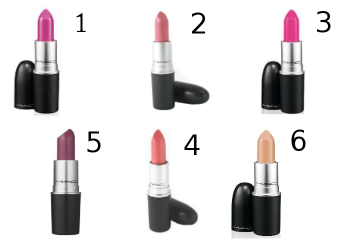 MAC Lipstick Favorites