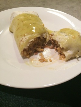 CROCK POT BURRITOS